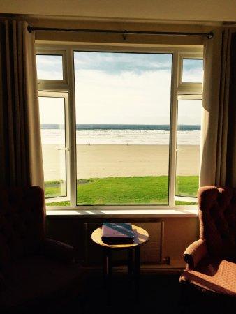 Rossnowlagh, Irland: Blick aus dem Zimmer