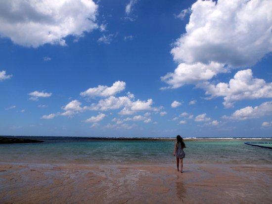 Ginowan, Japon : 一個人的海灘