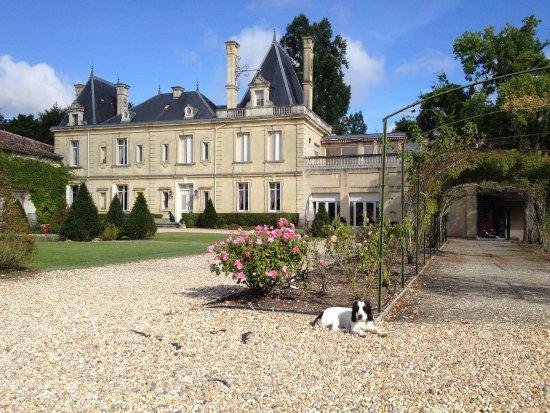 Avensan, Frankreich: Château vu du Parc.