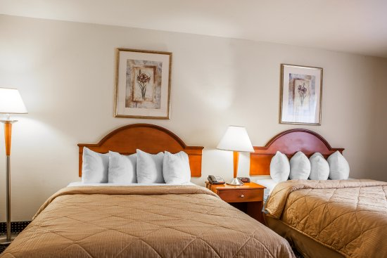 East Windsor, Nueva Jersey: Double Queen Room
