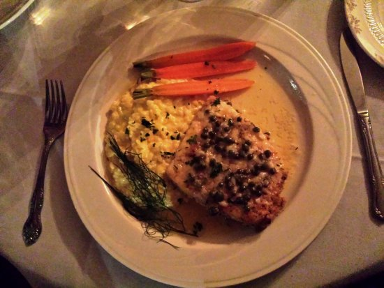 Sedalia, CO: halibut piccata
