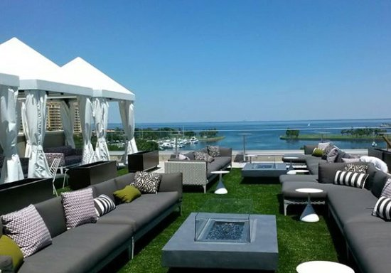 The Birchwood: The Canopy Rooftop Lounge