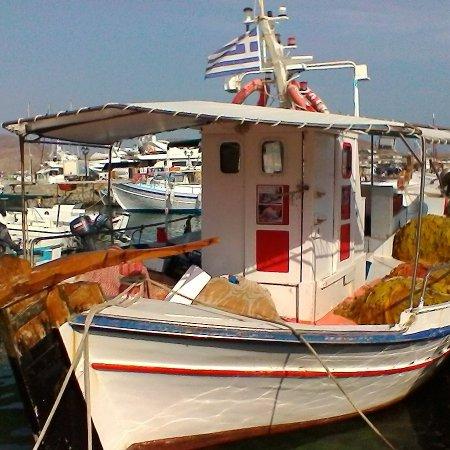 Naoussa, Grecia: barche