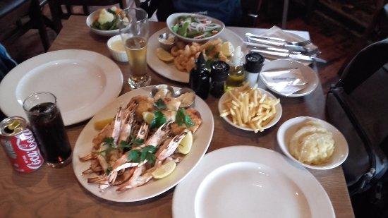 Paradiso Restaurant: Pescado y Marisco para 2