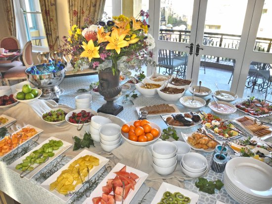 Franschhoek Country House & Villas: Part of the breakfast buffet