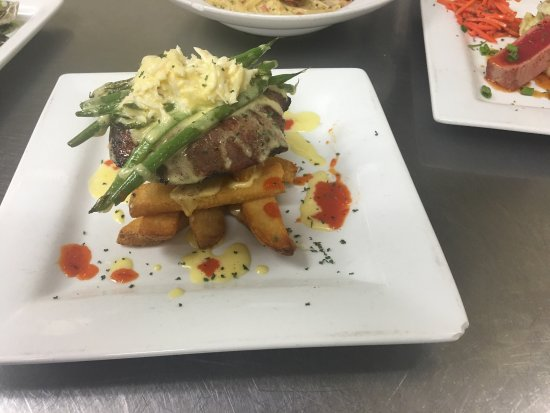 Backyard Bar And Grille Enfield come visit! new chef. here are some of the specials we have been