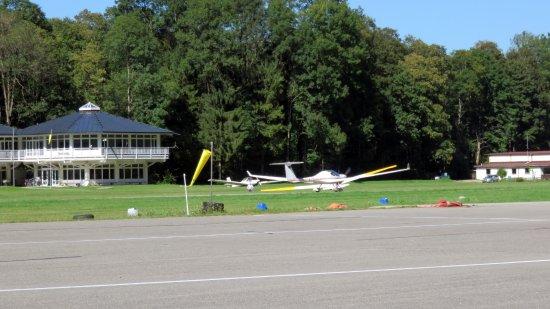Unterwossen, Germany: Vliegtuigje