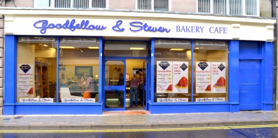 Brechin, UK : Pop in for a cosy  cuppa and piece of cake..