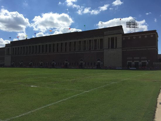 "Memorial Stadium: The ""old"" side of the stadium"