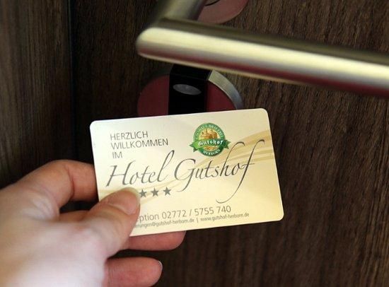 Hotel Gutshof: Herzlich Willkommen - Safety First