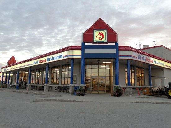 Belmont, Canada: Husky Restaurant, Hwy 401 & 74. 401 Hwy Exit #195.