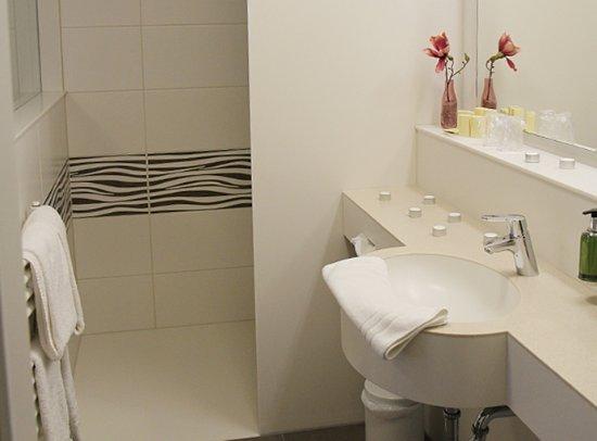 Hotel Gutshof: Einzelzimmer Komfort: Duschbad