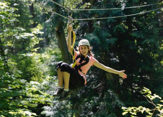 Canopy Tours Northwest: Hey Tarzan, Your ride is here!