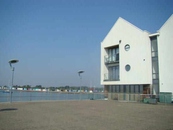 Brightlingsea, UK: Location is quay