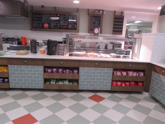 Tillicoultry, UK: hot food bar
