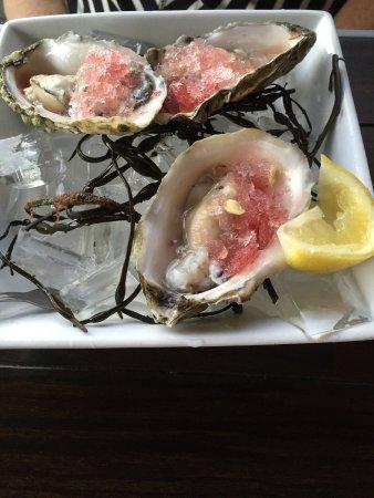 Aliso Viejo, Kalifornia: Blue point oysters.