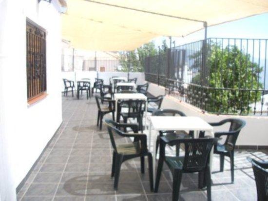 Canar, สเปน: Terraza con maravillosas vistas