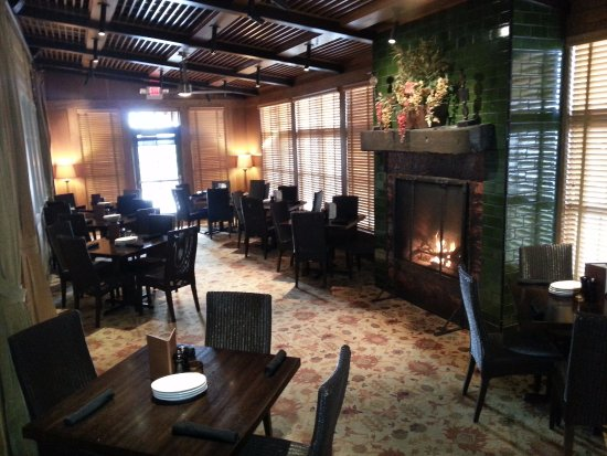 Doolittles Woodfire Grill: Fireplace Room | Private Dining up to 30 guests