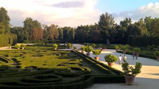 Colorno, Italia: particolare del giardino