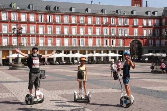 Segway Tour Retiro Park Funky Rider Madrid Picture Of