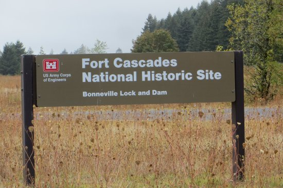 Βόρειο Bonneville, Ουάσιγκτον: Fort Cascades Historic Site,WA