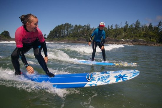 Surf Sister Surf School: Surfing at Cox Bay