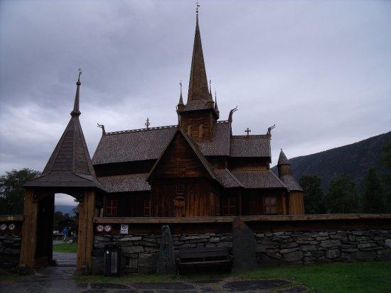 Lom, Norveç: Vista exterior