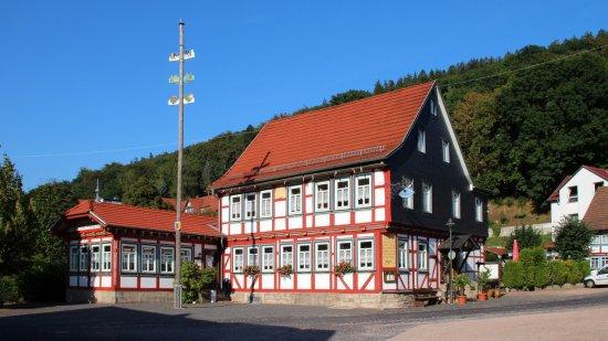 """Ruhla, Almanya: Gasthaus """"Einkehr zum Landgrafen"""""""