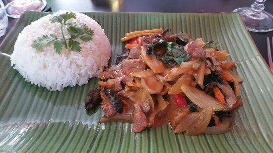 La Roche-sur-Yon, Francia: Boeuf sauce thai...Encore parfait