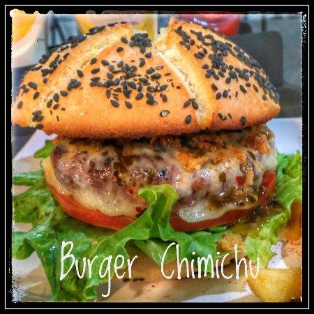 Bejar, Spanyol: Burger Chimuchu, una de entre otras muchas Gourmet