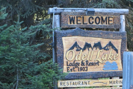 Crescent Lake, OR: Odell Lake Lodge