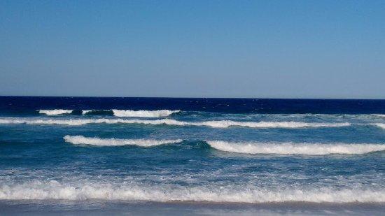 Foguete Beach: foto da areia