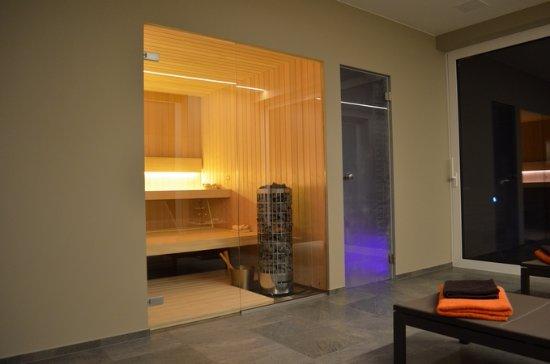 Diksmuide, Βέλγιο: Heerlijke sauna en stoomcabine.