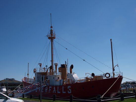 Lightship Overfalls: ship