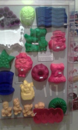 Le Roy, NY: Silicone molds, not just for baking