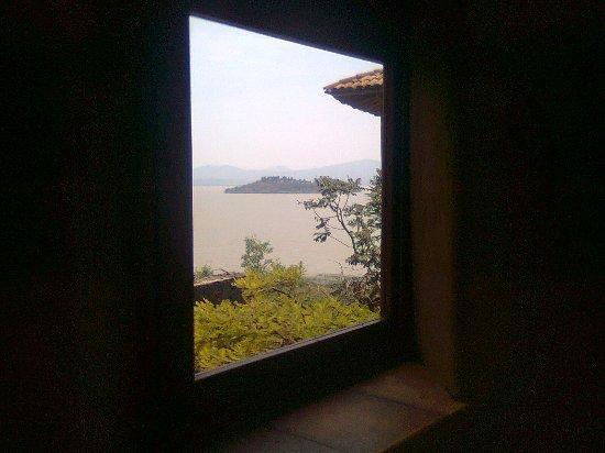 Tzintzuntzan, Mexico: A view from your bedroom
