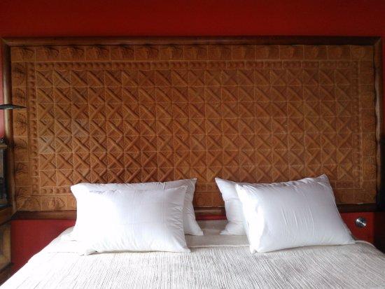 Tzintzuntzan, Mexico: Unplug the world in this bed