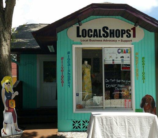 Gulfport, Flórida: LocalShops1