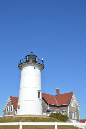 Woods Hole, MA: lighthouse