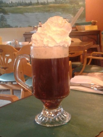 Killington, VT: Whiskey laced coffee