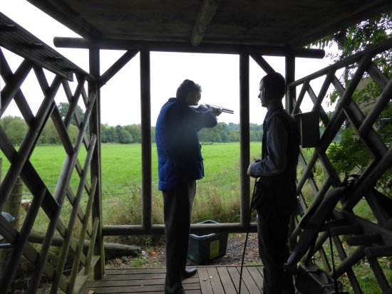 Shooting Under Instruction Picture Of Hereford Worcester