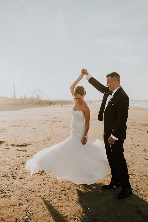 Hull, ماساتشوستس: Oceanfront Wedding
