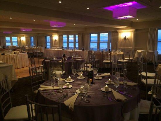 Hull, ماساتشوستس: Oceanfront reception