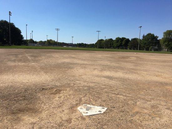 Cobbs Hill Park: Cobb's Hill Park - home plate on field #3