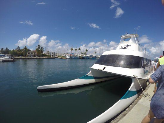 Calypso Charters Bad Kitty: Last stop for lunch