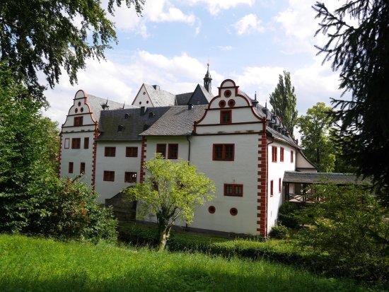 Uhlstadt - Kirchhasel, Alemania: hintere Ansicht
