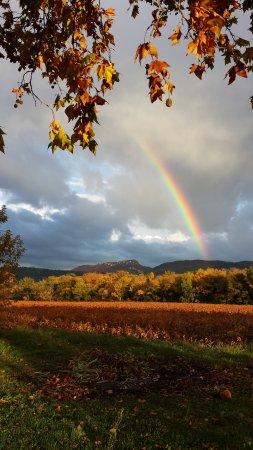 Violes, Francia: arc en ciel