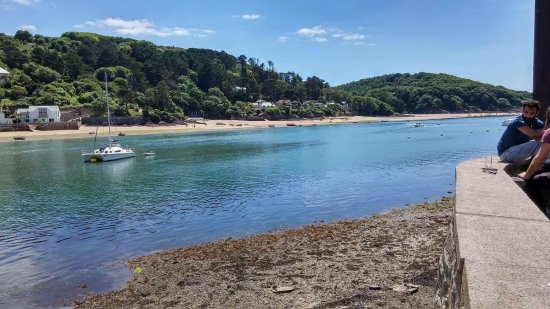 Salcombe, UK: View from The Ferry garden!