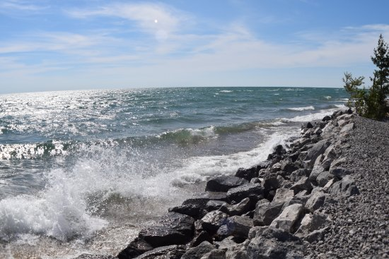East Tawas, Мичиган: Lake Huron, Tawas Point State Park