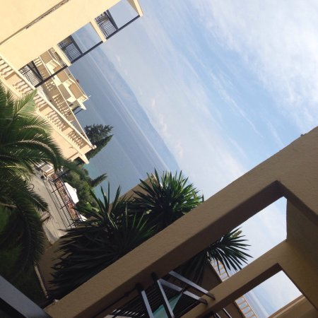 Renovated Room 404 with partial sea view - a lovely large, clean room, with a large balcony in t